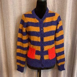 Kersh striped sweater cardigan